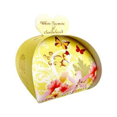 White Jasmine & Sandalwood Luxury Guest Soaps