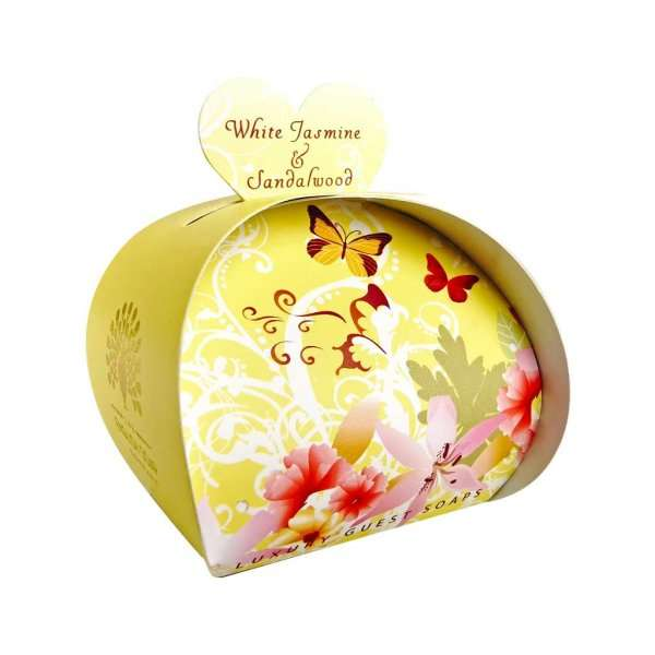 White Jasmine and Sandalwood Guest Soaps