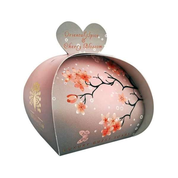 Oriental Spice & Cherry Blossom Luxury Guest Soaps
