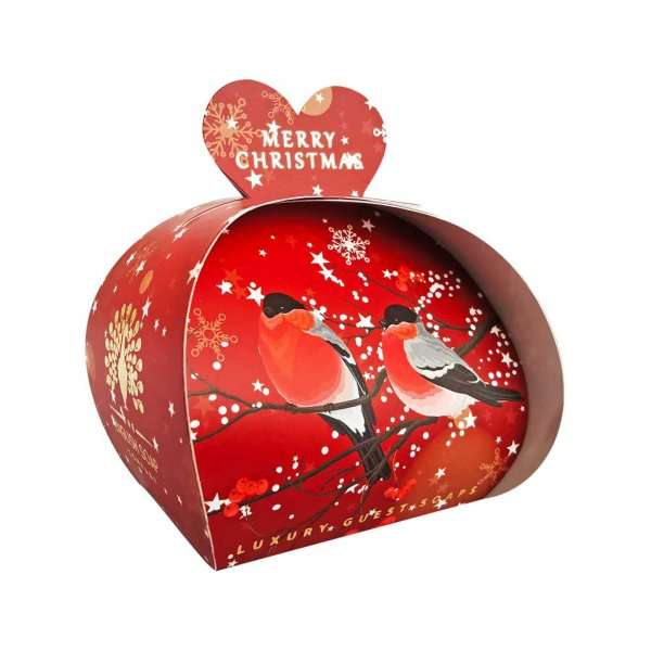Merry Christmas Luxury Guest Soaps