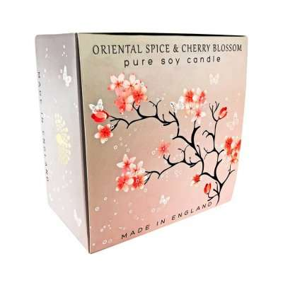 Oriental Spice Cherry Blossom Triple Wick Candle