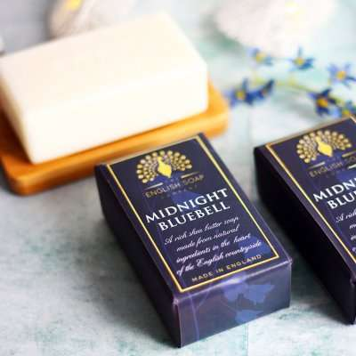 Pure Indulgence Midnight Bluebell Soap