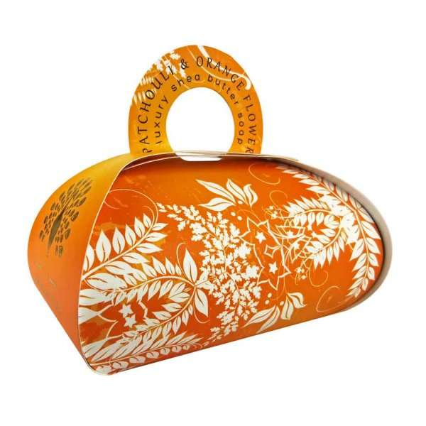 Patchouli & Orange Flower Large Gift Bag Soap