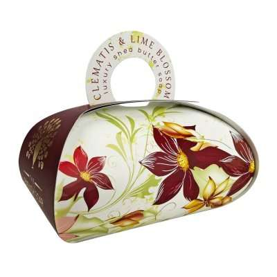 Clematis & Lime Blossom Large Gift Bag Soap