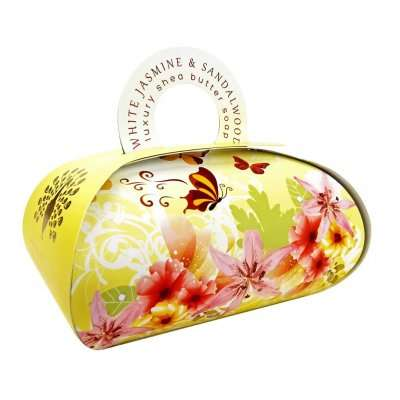 White Jasmine & Sandalwood large Gift Bag Soap