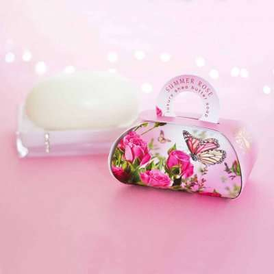 Summer Rose Large Gift Soap