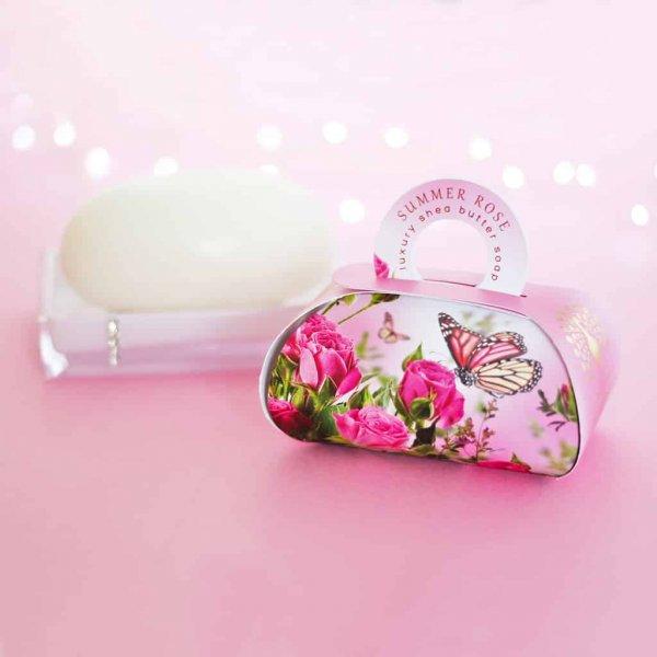 Summer Rose Large Gift Soap