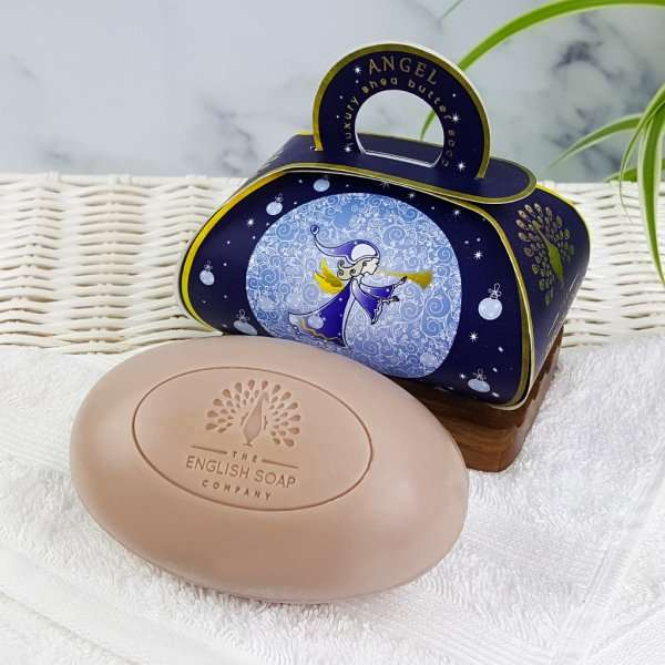 Angel Large Gift Bath Soap Unwrapped