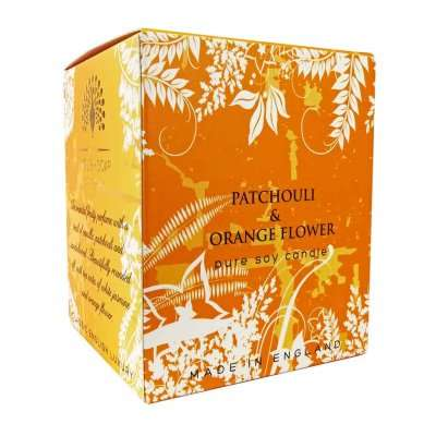 Patchouli and Orange Flower Candle
