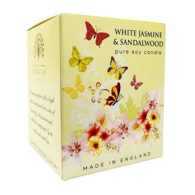 White Jasmine and Sandalwood Candle