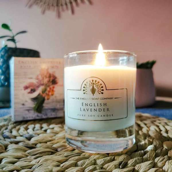 English Lavender Soy Wax Candle