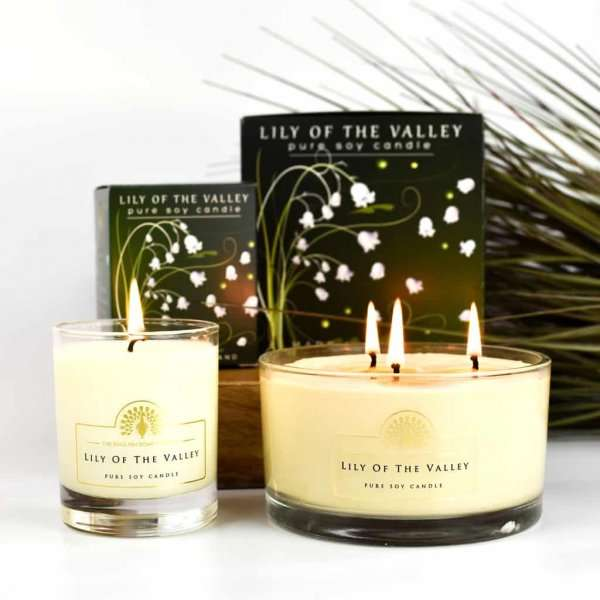 Lily of The Valley Candles 170ml and 450ml
