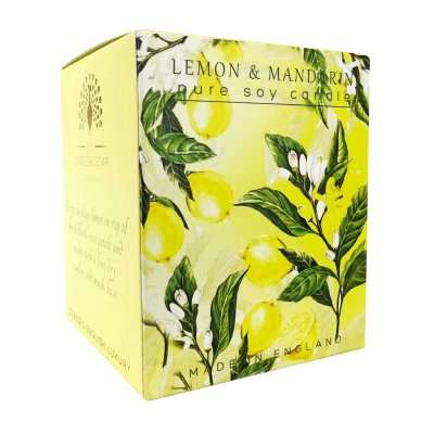 Lemon and Mandarin Candle