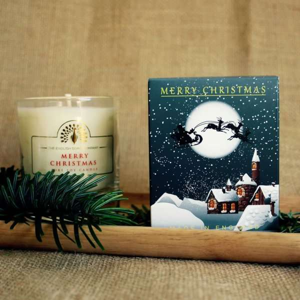 Winter Village Mulled Wine Soy Wax Candle