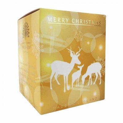 Christmas Reindeer Pine Candle