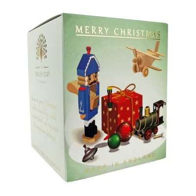 Christmas Vintage Toys Fir Tree Candle