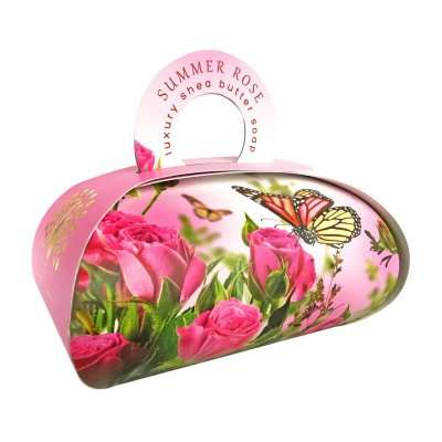 Summer Rose Large Gift Bag Soap
