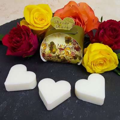 Briar Rose Luxury Heart Gift Guest Soap