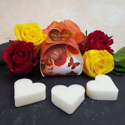 Enchanted Blooms Luxury Guest Gift Heart Soap