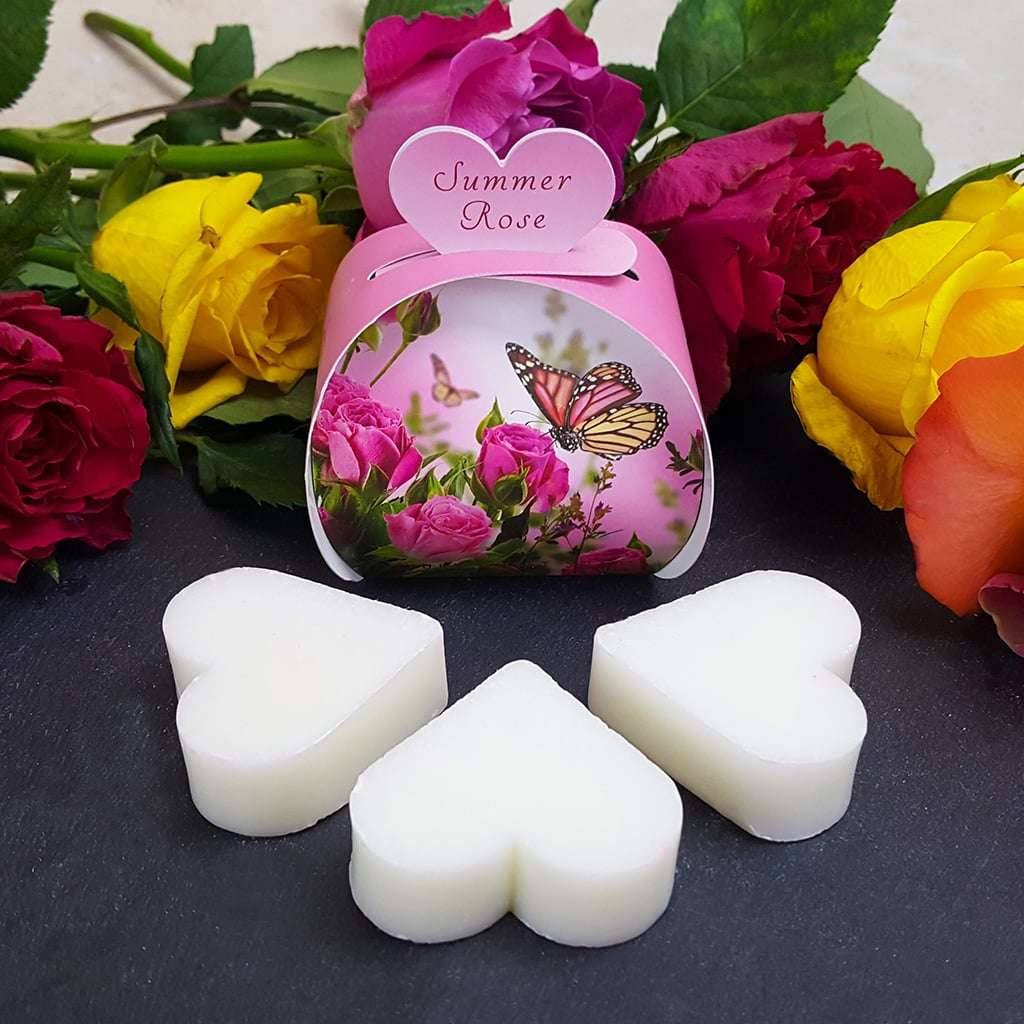 Summer Rose Luxury Gift Guest Heart Soap