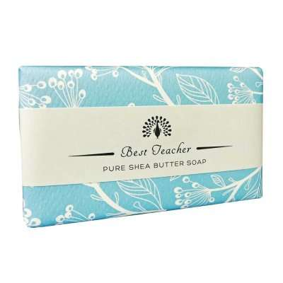 Best Teacher Blue Jasmine Soap Bar