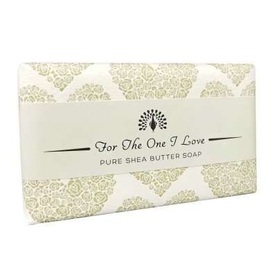 For The One I love Gold Rose Soap Bar