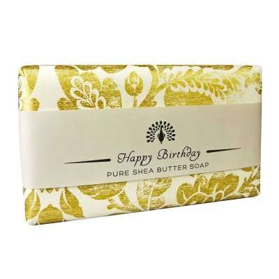 Happy Birthday Lavender Soap Bar