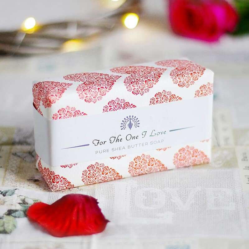 Summer Rose Red For The One I Love Soap