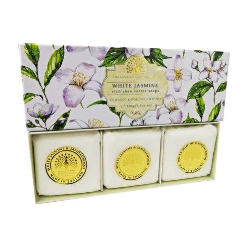 White Jasmine 3 Boxed Hand Soaps