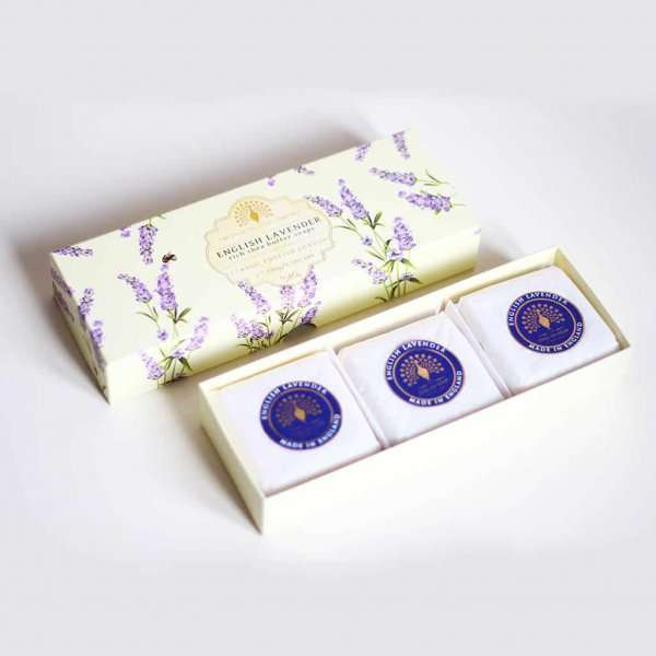 Lavender Gift Boxed Hand Soaps