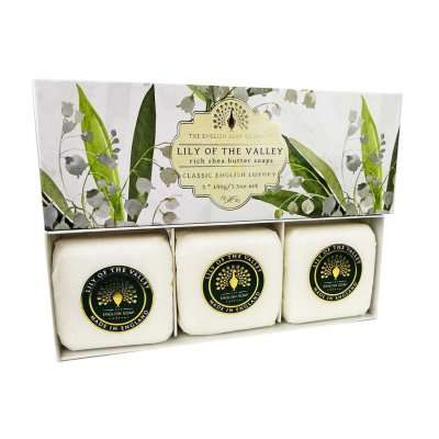 Lily Of The Valley 3 Boxed Hand Soaps