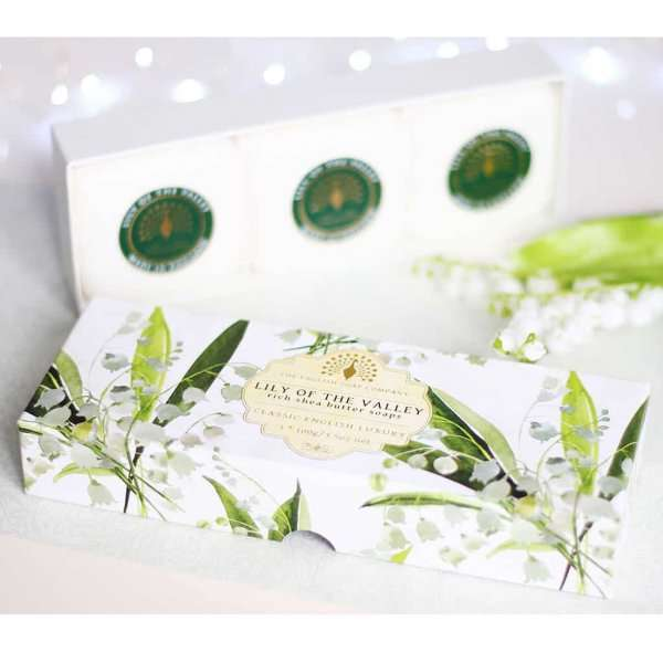lily Gift Boxed Hand Soaps