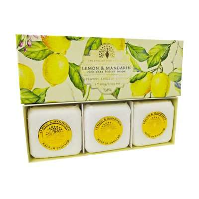 Lemon and Mandarin Hand Soap Gift Set
