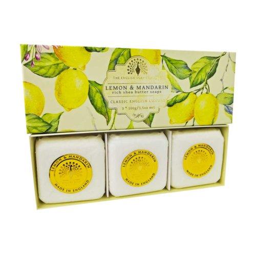 Lemon & Mandarin 3 Boxed Hand Soaps