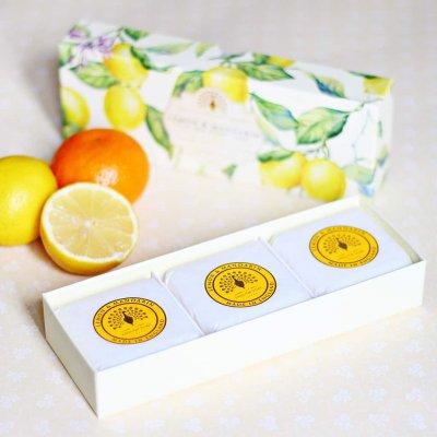 Lemon Gift Boxed Hand Soaps