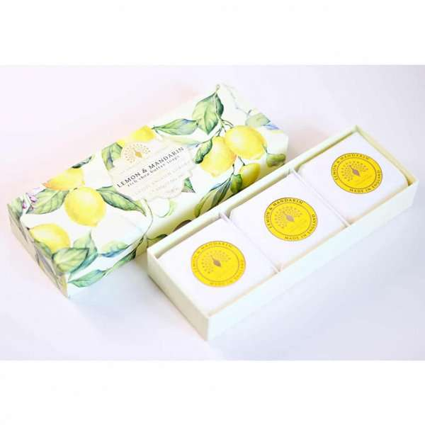 Lemon Gift Boxed Hand Soaps