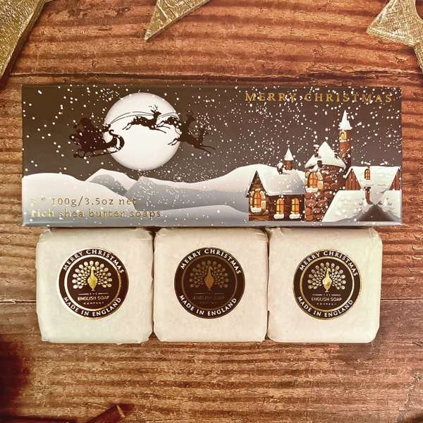 Winter Village Gift Boxed Hand Soaps