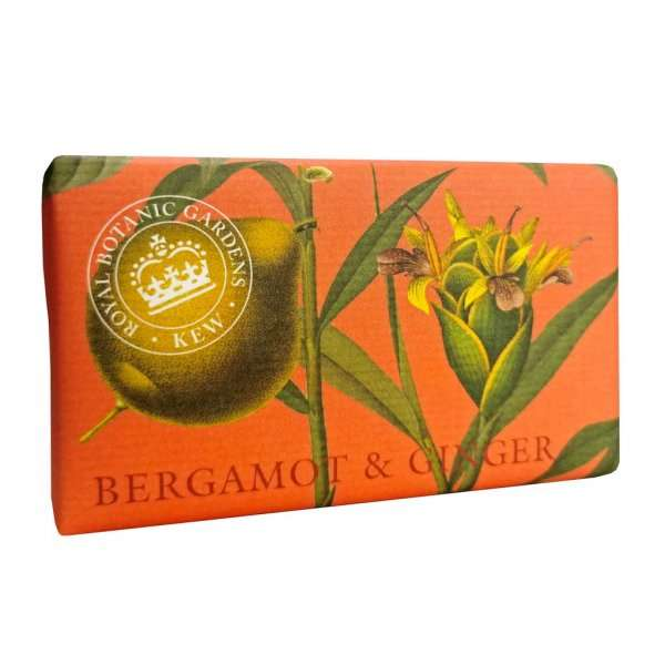 Kew Gardens Bergamot and Ginger Soap