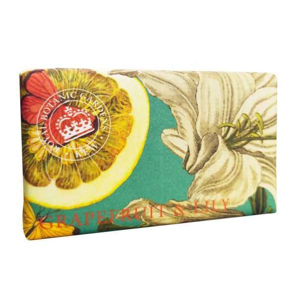 Kew Gardens Grapefruit and Lily Soap