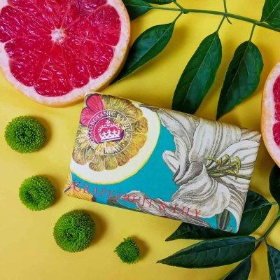 KGS0003 Kew Gardens Grapefruit Lily Soap Bar