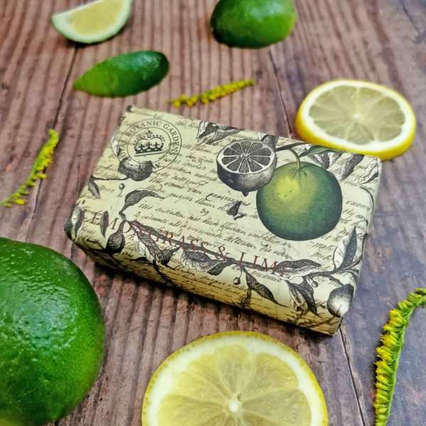KGS0004 Kew Gardens Lemongrass Lime Soap Bar low res