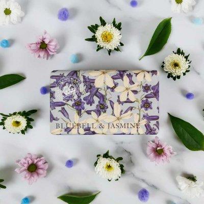 KGS0007 Kew Gardens Bluebell Jasmine Soap Bar