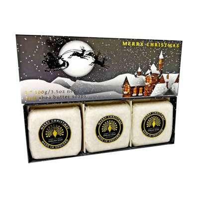 Winter Village Hand Soap Gift Set