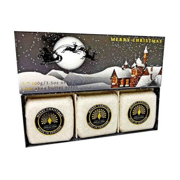 Winter Village Hand Soap Gift Set