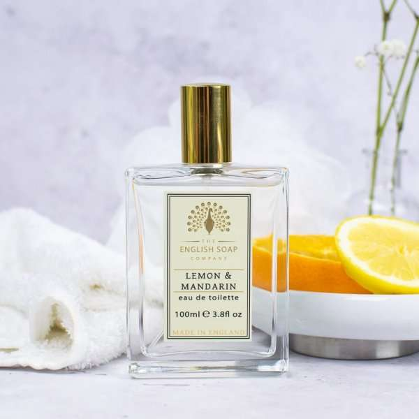 Lemon and Mandarin Eau de Toilette Bottle