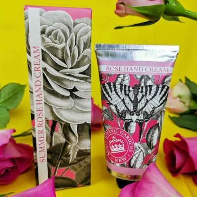 KGHC0002 Kew Gardens Summer Rose Hand Cream