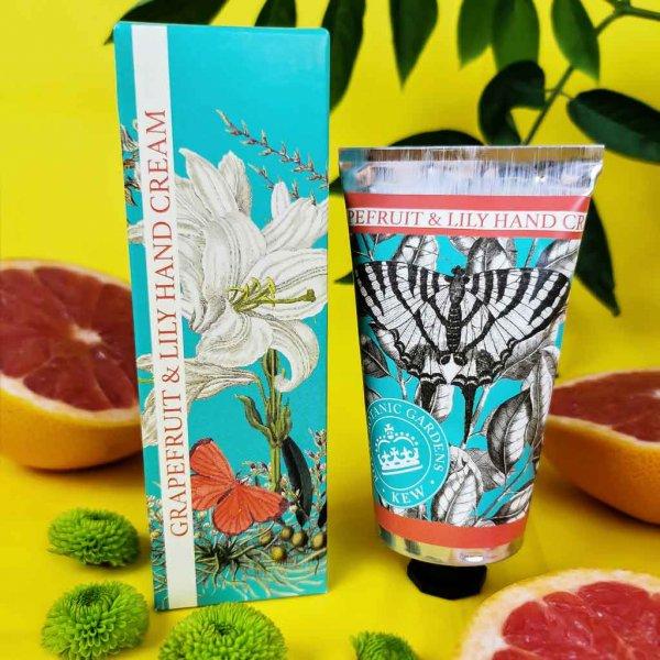 KGHC0003 Kew Gardens Grapefruit Lily Hand Cream