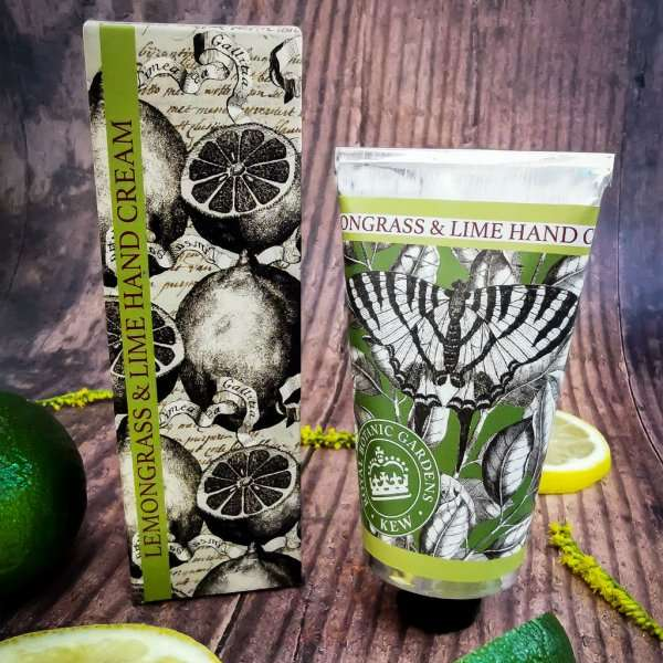 KGHC0004 Kew Gardens Lemongrass Lime Hand Cream