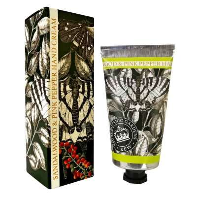 Kew Gardens Sandalwood and Pink Pepper Hand Cream