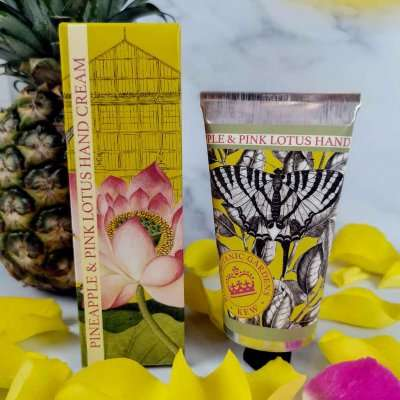 KGHC0014 Kew Gardens Pineapple Pink Lotus Hand Cream